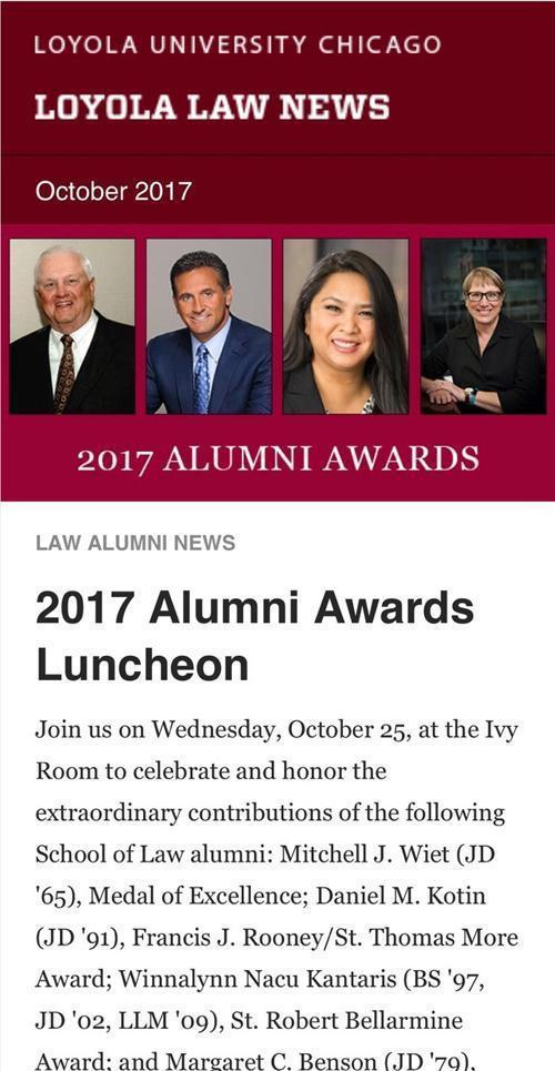 Loyola Law School Alumni Event