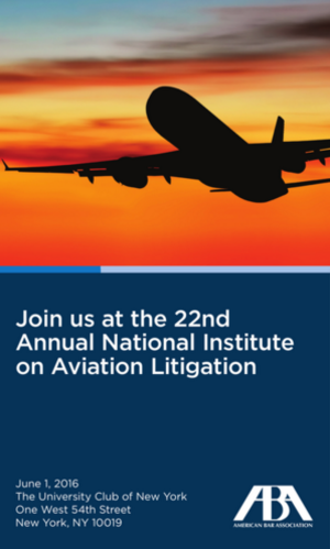 Aviation Litigation event