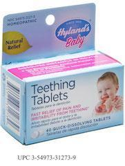 Hyland's teeting tablets, Chicago personal injury lawyer